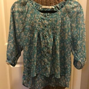 Liberty Love floral flowy top
